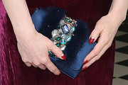 Dita Von Teese Gemstone Inlaid Clutch