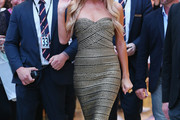 Paris Hilton Strapless Dress