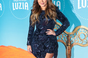 Adrienne Bailon Sequin Dress