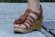 Busy Philipps Wedges