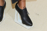 Solange Knowles High Heel Oxfords