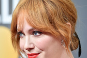 Christina Hendricks Chignon