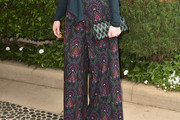 Christina Hendricks Print Pants