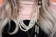 Kelly Clarkson Layered Pearl Necklace