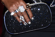 Janelle Monae Beaded Clutch