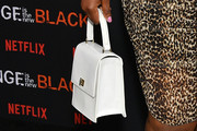 Adrienne C. Moore Leather Purse