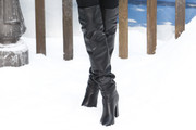 Poppy Delevingne Over the Knee Boots