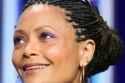 Thandie Newton Braided Bun