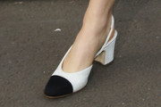 Suki Waterhouse Slingbacks