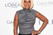 Mary J. Blige Fitted Blouse