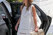 Jessica Alba Shift Dress