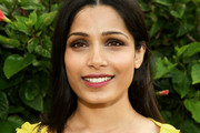 Freida Pinto Long Straight Cut