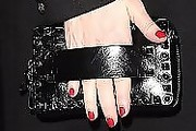 Liv Tyler Leather Clutch