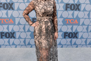 Tori Spelling Sheer Dress