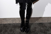 Julianne Moore Over the Knee Boots
