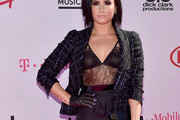 Demi Lovato Tweed Jacket