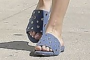 Kaley Cuoco Studded Sandals