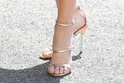 Troian Bellisario Strappy Sandals