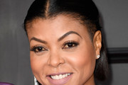 Taraji P. Henson Half Up Half Down