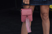 Dania Ramirez Leather Purse