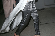 Kate Beckinsale Satin Pants