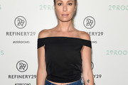 Catt Sadler Off-the-Shoulder Top