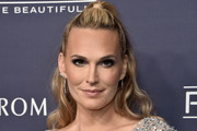 Molly Sims Half Up Half Down