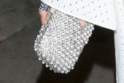 Nicole Scherzinger Beaded Clutch