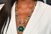 Naomi Campbell Oversized Pendant Necklace