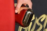 Lindsey Vonn Metallic Clutch