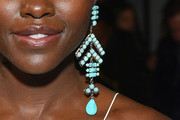Lupita Nyong'o Gemstone Chandelier Earrings