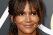 Halle Berry Loose Ponytail