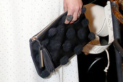 Jordana Brewster Tasselled Clutch