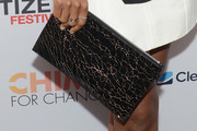 Kerry Washington Printed Clutch