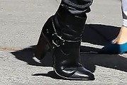 Lady Gaga Ankle Boots