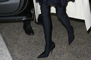 Miranda Kerr Over the Knee Boots