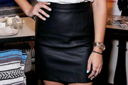 Emily Osment Mini Skirt