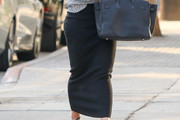 Hilary Duff Long Skirt
