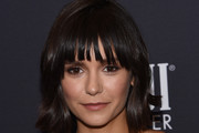 Nina Dobrev Short Cut With Bangs