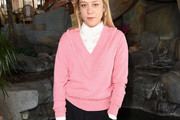 Chloe Sevigny V-neck Sweater