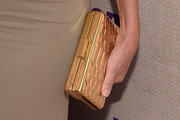 Sharon Stone Metallic Clutch