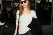 Leslie Mann V-neck Sweater