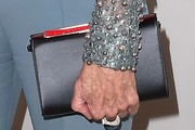 Jane Fonda Leather Clutch