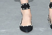 Claudia Schiffer Embellished Flats