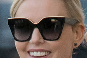 Charlize Theron Cateye Sunglasses