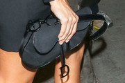 Kourtney Kardashian Nylon Handbag