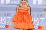 Mollie King Strapless Dress