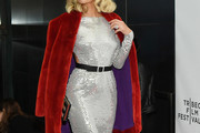 Paris Hilton Fur Coat