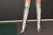 Miley Cyrus Over the Knee Boots