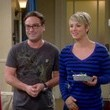 Johnny Galecki and Kaley Cuoco on 'The Big Bang Theory'
